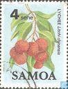 Postzegels - Samoa - Vruchten