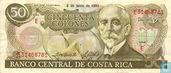 Costa Rica 50 colones (2 June)