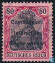Briefmarken - Marienwerder - Germania-Aufdruck