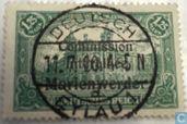 Briefmarken - Marienwerder - Denkmäler Berlin, mit Aufdruck