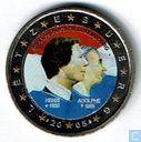 "Luxemburg 2 euro 2005 ""50th birthday of Henri / 100th anniversary of Adolphe's death"""