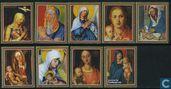 Postzegels - Paraguay - Schilderijen van Albrecht Dürer