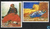 Postzegels - Russische Federatie - Boerjatië - Cinderella - Schilderijen