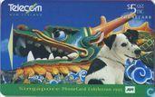 Spot visits Singapore - PhoneCard Exhibition 1995