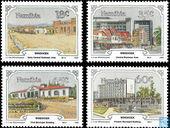 Postzegels - Namibië - Architectonische ontwikkeling van Windhoek