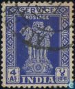 Postzegels - India - Asoka pilaar