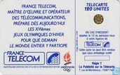 Telefoonkaarten - France Telecom - Albertville '92 Skieur