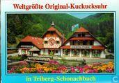 Weltgrößte Original-Kuckucksuhr in Triberg-Schonachbach