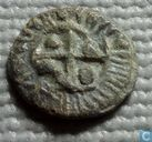 Crusader States - Latin Kingdom of Jerusalem  Merchant Lead Cross Token  1099 - 1291 CE