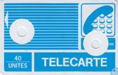 Telefoonkaarten - PTT Telecommunications - Telecarte 40 unités
