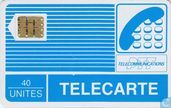 Phone cards - PTT Telecommunications - Telecarte 40 unités