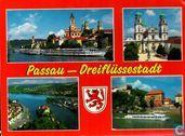 Passau-Dreiflussenstadt 33 schöne Farbfotos