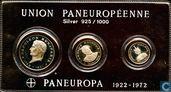 Set 5 euro - 2 euro - 1 Euro - 1972