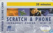 Scratch & phone 20 minutes