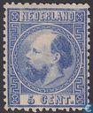 Roi Willem III (K 13½ petits trous)