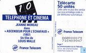 Telefoonkaarten - France Telecom - Jeanne Moreau