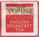 Tea bags and Tea labels - Twinings [tm] of London - English Breakfast Tea