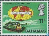 Dieseltrain and globe