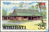 Postage Stamps - Kiribati - Buildings