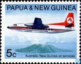 25 years of air connection between Australia and New Guinea