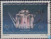 Postzegels - Zuid-Afrika - Oud zilver uit Kaapstad