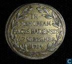 Germany  In Memoriam Pacis Badensis  7.Septembre, 1714