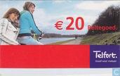 € 20 Beltegoed.