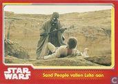 Sand People vallen Luke aan