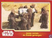 Jawas nemen de Droids gevangen