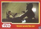 Greedo spreekt Han aan