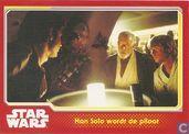 Han Solo wordt de piloot