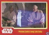 Prinses Leia's roep om hulp