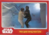 Han gaat terug voor Leia