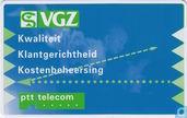 Phone cards - PTT Telecom - VGZ, Kwaliteit, Klantgerichtheid, Kostenbeheersing