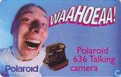 Phone cards - PTT Telecom - Polaroid 636 talking camera