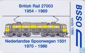 Phone cards - PTT Telecom - BSSO, Nederlandse Spoorwegen 1501