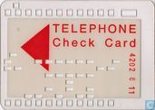 WM'74 Telephone Check Card