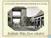12 echte Photografien 6,5 x 9 CM  Frohlich Pfalz, Gott erhalts's!
