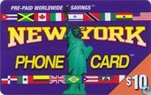 New York phone card