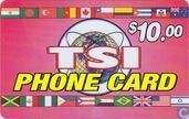 TSI phone card