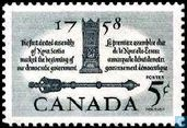 200 years of 1st elected assembly of Nova Scotia