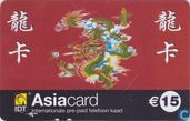 Telefoonkaarten - International Discount Telecommunications - Asiacard