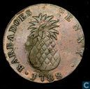 Barbadoes  1 penny  1792 (pineapple)