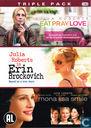 Triple Pack - Eat Pray Love/Erin Brockovich/Mona Lisa Smile