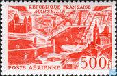 Postage Stamps - France [FRA] - Cityscapes