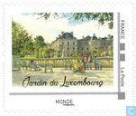 Squares and gardens of Paris