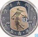 "Frankrijk 5 euro 2003 (PROOF) ""La Semeuse"""