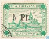 Stad Frankfurt (met opdruk)