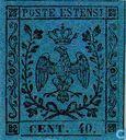 Hertogdom Modena - Adelaar met kroon