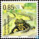 Postzegels - Liechtenstein - Amfibieën